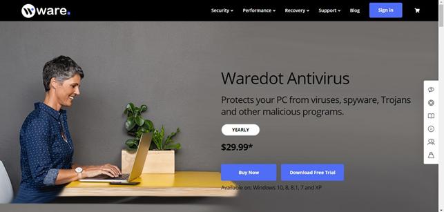 Waredot Free Antivirus